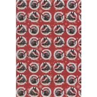 Christmas Donkeys Christmas Gift Wrap and Tags