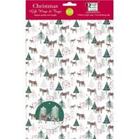 Donkey Wonderland Christmas Gift Wrap and Tags
