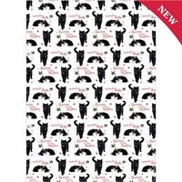 Cute Christmas Kittens Gift Wrap and Tags