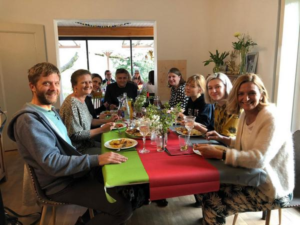 Afghan inspired dinner party raises over £600!