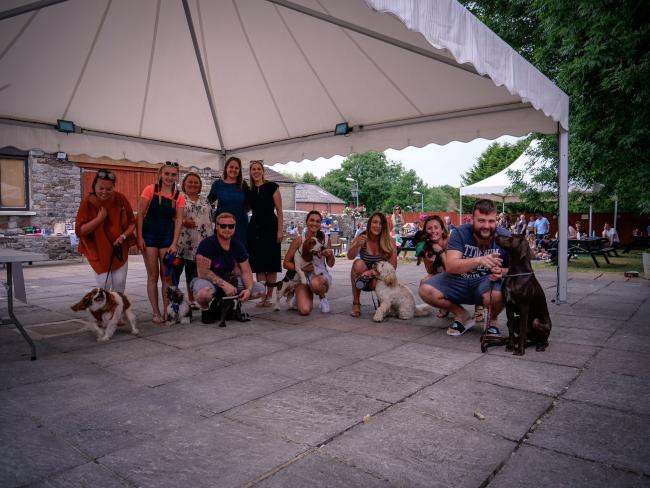 THE GEORGE HOTEL has hosted the 5th Grufts, in aid of Nowzad
