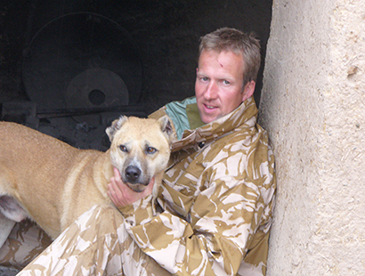 How it all began.....Pen and Nowzad in Helmand 2006
